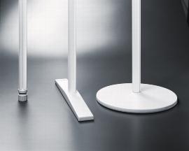 Legamaster 7-643200 Rechteckfuß Weiß Länge 50 cm für Legaline PROFESSIONAL Stellwand