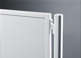 Legamster 7-645100 Kupplungsset 4er-Set Weiß für Legaline PROFESSIONAL Stellwand