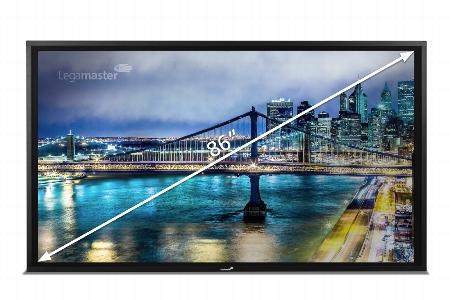 Legamaster 7-801150-65 e-Screen STX-6550 UHD Schwarz