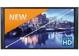 Legamaster 7-802100-55 e-Screen XTX-5500UHD Ultra HD/4k Schwarz