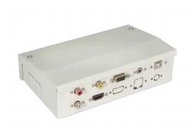 Legamaster 7-CATBOX Anschlussbox für e-Board TOUCH VGA, HDMI, USB (A auf B), CAT Buchse, Audio Cinch / Klinke 2x