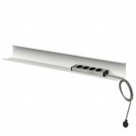 Kerkmann 3002 Kabelkanal für Sitz-/Stehtische 160+180cm breite Tische