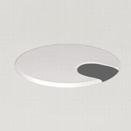 Kerkmann 3091 Kabeldurchlass links (Tischplatte) Dose Weiß