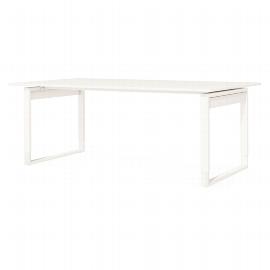 Kerkmann 3611 Schreibtisch FRESH (BxT) 200x100cm höhenverstellbar 68-82cm Weiß
