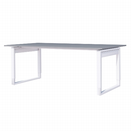 Kerkmann 3614 Schreibtisch FRESH (BxT) 120x80cm höhenverstellbar 68-82cm Weiß