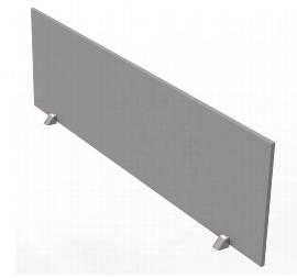 Kerkmann Tischtrennwand 3753 (BxH) 160x45cm für Tische 160/180cm Grafit