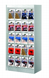 Kerkmann 3795 Prospektschrank PRINT mit 20 Klappenfächern A4
