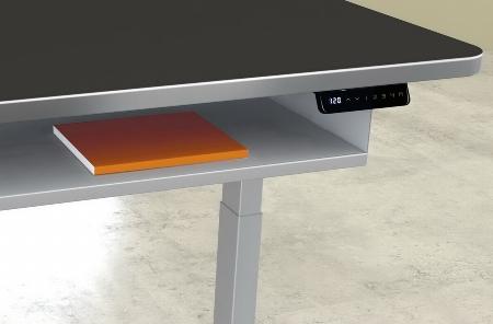 Kerkmann 3799 Ablagefach (Untertisch) ausziehbar (BxHxT) 110x8x30cm Metall Weiß