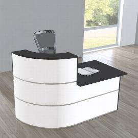 Kerkmann 3851 Design-Theke Cento 2  (BxTxH) 1800 x 950 x 1100 mm
