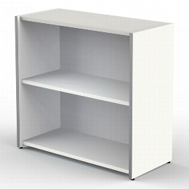 Kerkmann 4431 Regal breit 2OH (BxTxH) 800 x 380 x 760mm Stellfüße Weiß