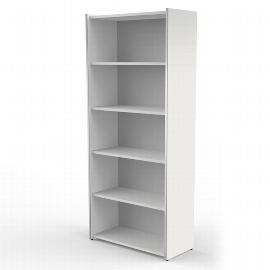 Kerkmann 4435 Regal breit 5OH (BxTxH) 800 x 380 x 1830mm Stellfüße Weiß