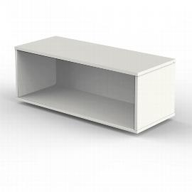 Kerkmann 4494 Aufsatzschrank 1OH offen für Schiebetürenschränke (BxTxH) 100x40x36cm Weiß
