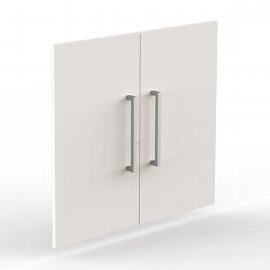 Kerkmann 4546 Vorbautüren 2OH (BxH) 760 x 700 mm Holz abschließbar Türen Weiß