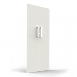 Vorbautüren AVETO 5OH aus E1 Gütespan Weiß