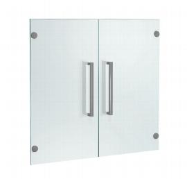 Kerkmann 4556 Vorbautüren 2OH (BxTxH) 760x4x700 aus satiniertem Glas