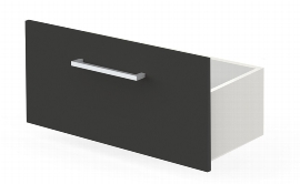 Schublade Lugano 4632 (BxHxT) 760x380x380mm Weiß