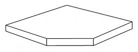 Kerkmann 5957 Eckfachboden inkl. Bodenhalter Tiefe 60 cm