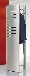 Kerkmann 6070 Design Standgarderobe tec-art Chrom/Alusilber inkl. 5 Chromkleiderbügel