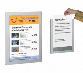 Kerkmann 6500 Infoträger DAILY für DIN A4 (BxTxH) 255x20x340mm Packung 2 Stück