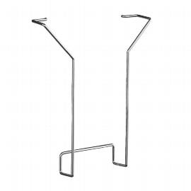 Kerkmann 6940 Prospektfach für DIN A4 aus Stahldraht im 2er-Pack