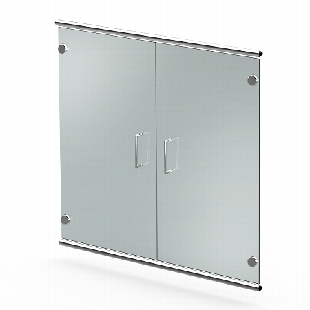 Kerkmann 7393 Vorbautüren Artline 2OH (BxTxH) 750 x 4 x 680mm satiniertes Glas