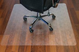 FloorTEX valuemat Plus Bodenschutzmatte FC127515ER für Hartböden 120x75cm Polycarbonat transparent rechteckig
