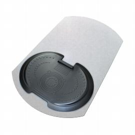 Floortex AFS-TEX 5000s2s Set aus Anti-Ermüdungsmatte u. Bodenschutzmatte für Hartböden
