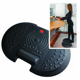 Floortex AFS-TEX Anti-Ermüdungsmatte System 4000x FCA42030XBK für Sitz-/Steharbeitsplätze 50x76cm konturiert