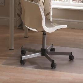 FloorTEX valuemat Bodenschutzmatte FR1220017EV für Hartböden 120x200cm Vinyl transparent rechteckig