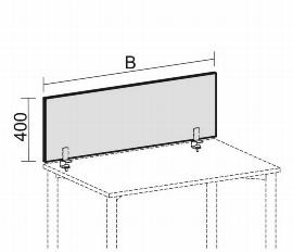 Akustik-Tischaufsatz