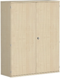Geramöbel Garderobenschrank Pro 10AG412 abschließbar (BxTxH) 1200x425x1536mm Ahorn/Ahorn