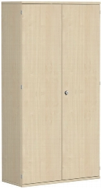 Geramöbel Garderobenschrank Pro 10AG510 abschließbar (BxTxH) 1000x425x1920mm Ahorn/Ahorn