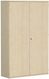 Geramöbel Garderobenschrank Pro 10AG512 abschließbar (BxTxH) 1200x425x1920mm Ahorn/Ahorn