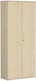 Geramöbel Garderobenschrank Pro 10AG610 abschließbar (BxTxH) 1000x425x2304mm Ahorn/Ahorn