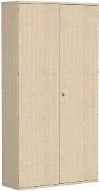 Geramöbel Garderobenschrank Pro 10AG612 abschließbar (BxTxH) 1200x425x2304mm Ahorn/Ahorn