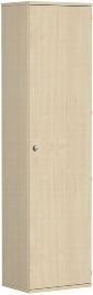 Geramöbel Garderobenschrank Pro 10AGL606 abschließbar (BxTxH) 600x425x2304mm Ahorn/Ahorn