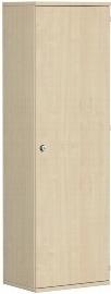 Geramöbel Garderobenschrank Pro 10AGR506 abschließbar (BxTxH) 600x425x1920mm Ahorn/Ahorn