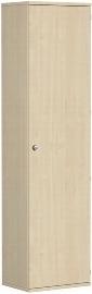 Geramöbel Garderobenschrank Pro 10AGR606 abschließbar (BxTxH) 600x425x2304mm Ahorn/Ahorn