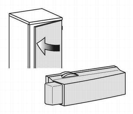 Geramöbel Türdämpfer 10DTD für alle Türen nachrüstbar ab 3OH 2 Stück pro Tür notwendig