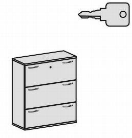 Geramöbel Hängeregistraturschrank Pro 10HR310 2-bahnig 3 Schübe (BxTxH) 1000x425x1152mm Ahorn/Ahorn