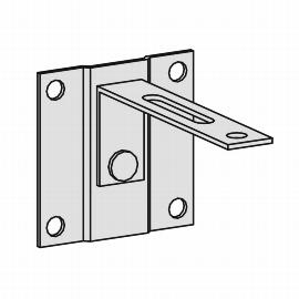 Geramöbel Kippsicherung 10Z15 zur Wandbefestigung von Schränken und Regalen 0-407-N-10Z15