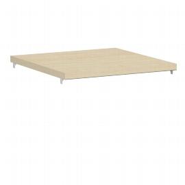 Geramöbel 341702 Dekor-Einlegeboden für Korpusbreite 40cm (BxTxH) 361x370x19mm Ahorn