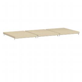 Geramöbel 381711 Einlegeböden für Regalausfachung Pack 3 Stück Ahorn