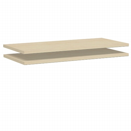 Geramöbel 382200 Regazwischenboden 80cm zur Verbindung von 2 Schränken Pack 1 Stück Ahorn