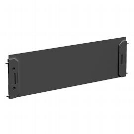 Geramöbel 530902 4-Fuß ECO Längsausfachung für Container-Schubladen Schwarz