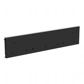 Geramöbel 530905 4-Fuß Eco Querausfachung für Container-Schubladen Schwarz