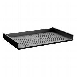 Geramöbel Schrägablage 530906 für Metall-Schubfächer verstellbare Neigung Material Kunstsstoff Schwarz