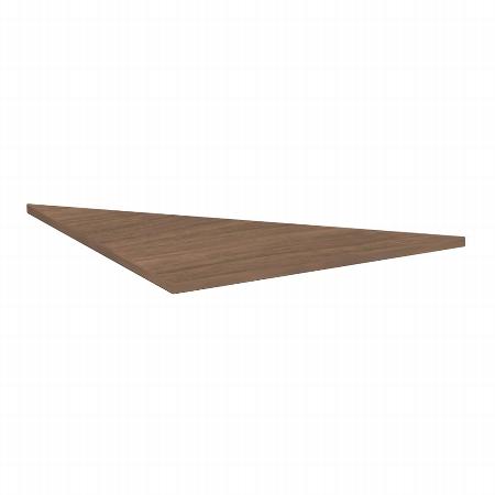 Geramöbel Verkettungsplatte 617508 C-Fuß Flex Dreieck 90° Tiefe 80x80cm Ahorn