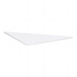 Geramöbel 647508 Verkettungsplatte Dreieck 90° (BxT) 800x800mm Ahorn