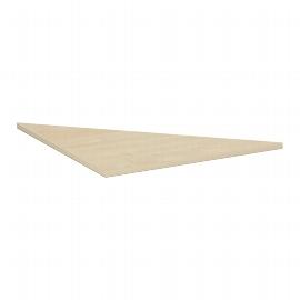 Geramöbel Verkettungsplatte 657508 4-Fuß PRO Dreieck 90° Tiefe 80x80cm Buche